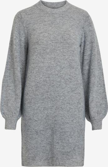 OBJECT Robes en maille 'Eve Nonsia' en gris chiné, Vue avec produit