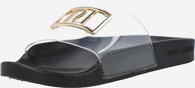 River Island Pantofle - zlatá / černá / průhledná, Produkt