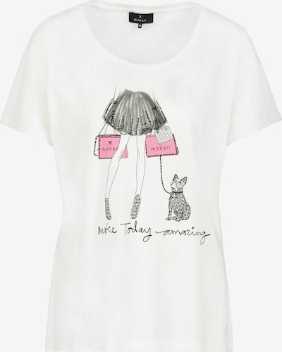 monari Shirt in pink / schwarz / weiß, Produktansicht