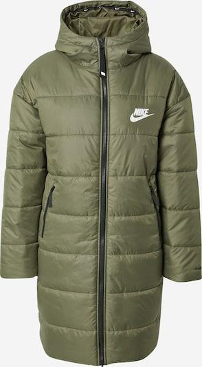 Nike Sportswear Winter Parka in Olive / White, Item view