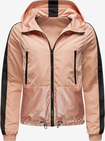 NAVAHOO Between-Season Jacket 'Sunitaa' in Pink