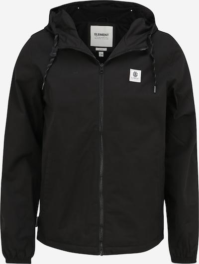 ELEMENT Jacke 'Alder' in schwarz / weiß, Produktansicht
