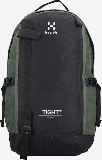 Haglöfs Rugzak in de kleur Kaki / Zwart / Wit, Productweergave