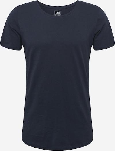 Lee T-Shirt in dunkelblau, Produktansicht