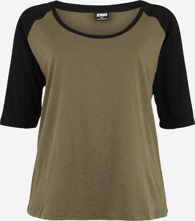 Urban Classics T-shirt en olive, Vue avec produit