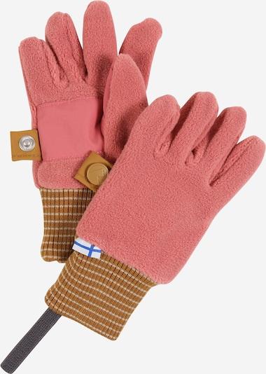 FINKID Rękawiczki 'SORMIKAS' w kolorze camel / różowy pudrowym, Podgląd produktu