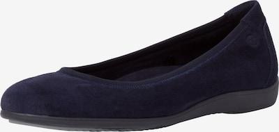 TAMARIS Ballerines en bleu marine, Vue avec produit