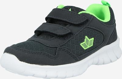 Scarpa sportiva LICO di colore blu notte / verde neon, Visualizzazione prodotti
