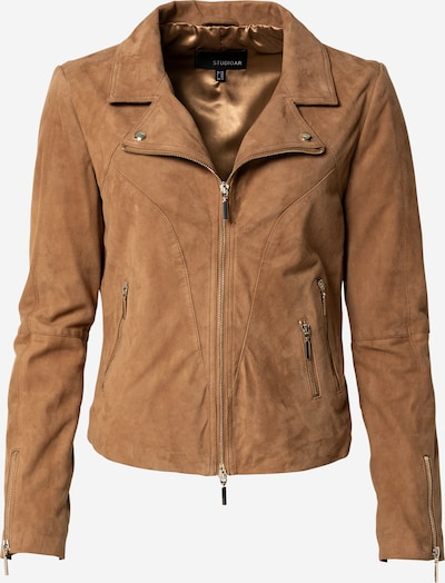Studio AR Between-Season Jacket 'CHERRY' in Light brown, Item view