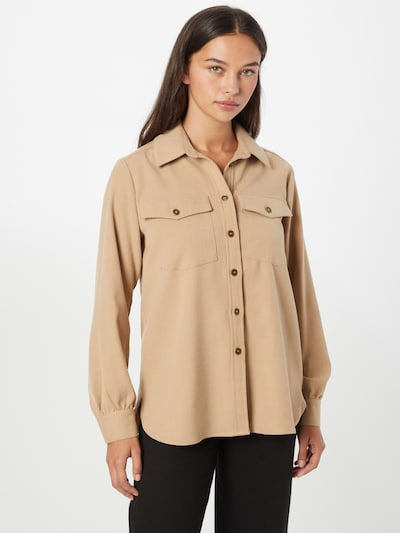 b.young Bluse 'DARACA' in camel, Modelansicht