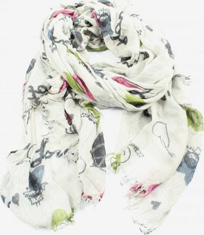 GC Fontana Sommerschal in One Size in hellgrau / pink / weiß, Produktansicht