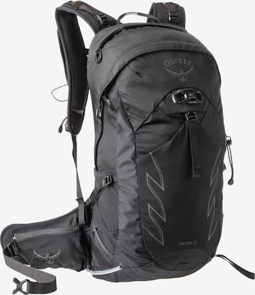 Osprey Sports Backpack 'Talon 22' in Black