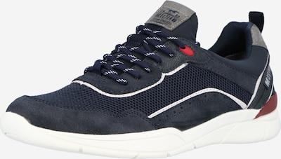 MUSTANG Sneaker in cognac / grau / weiß, Produktansicht