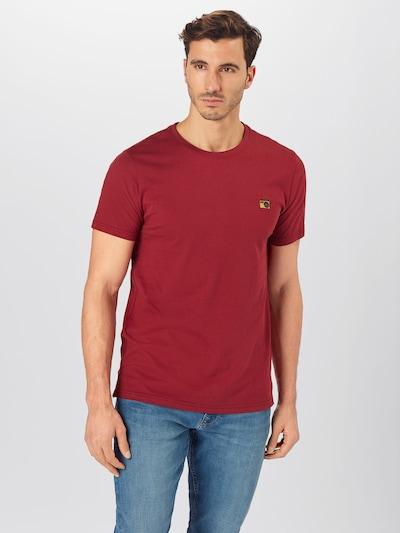 !Solid Tričko 'Mamo' - vínově červená: Pohled zepředu