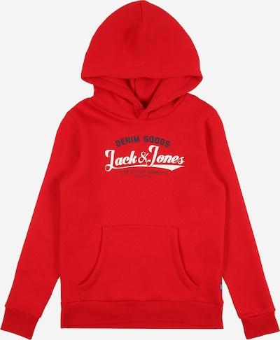 Jack & Jones Junior Mikina - námořnická modř / ohnivá červená / bílá, Produkt