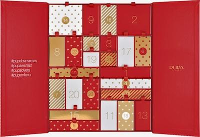 PUPA Milano Adventskalender in rot, Produktansicht