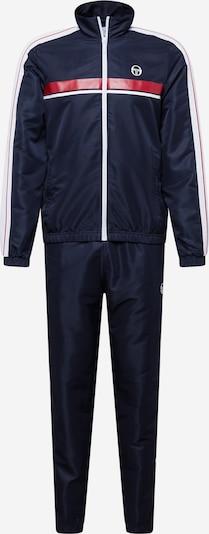 Sergio Tacchini Odjeća za vježbanje 'AGAVE' u tamno plava / crvena / bijela, Pregled proizvoda