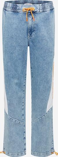 Tommy Jeans Farkut värissä sininen denim / vaaleanoranssi / musta / valkoinen, Tuotenäkymä