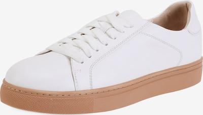 Ekonika Sneaker aus echtem Leder in weiß, Produktansicht