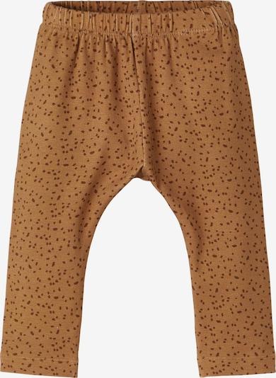 Lil ' Atelier Kids Trousers 'Geo' in Brown / Dark brown, Item view