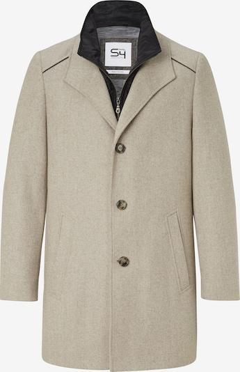 S4 Jackets Mantel in beige / greige, Produktansicht