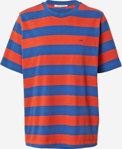 WOOD WOOD Shirt 'Alma' in blau / rot, Item view