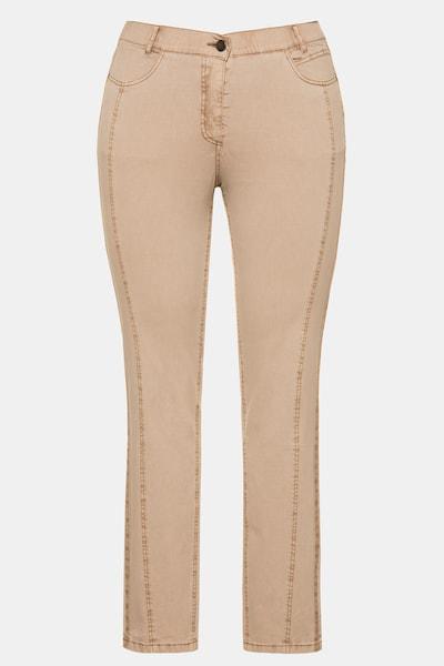 Ulla Popken Jeans in de kleur Beige, Productweergave