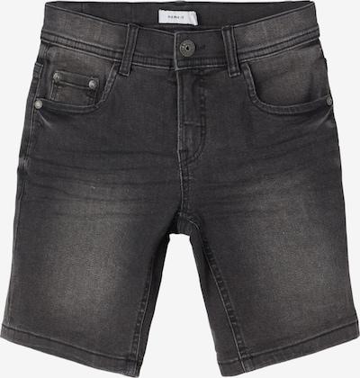 NAME IT Shorts 'Ryan' in black denim, Produktansicht