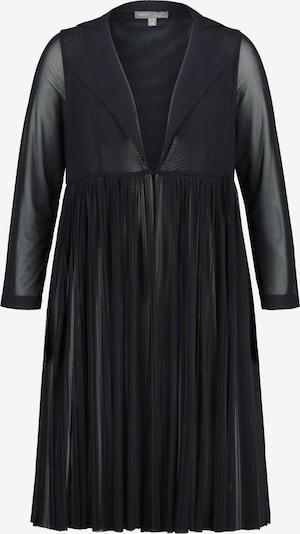 Ulla Popken Tussenjas in de kleur Zwart, Productweergave