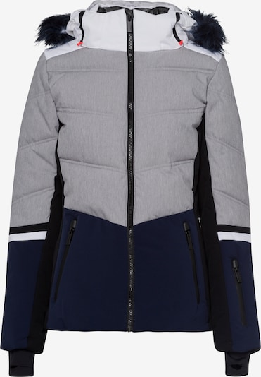 ICEPEAK Sportjacke in navy / hellgrau / weiß, Produktansicht