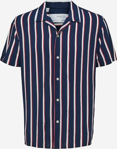 SELECTED HOMME Košile 'Michael' - námořnická modř / červená / bílá, Produkt