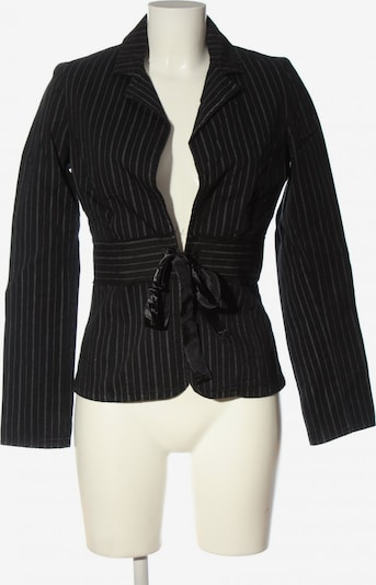 VERO MODA Kurz-Blazer in XS in schwarz / weiß, Produktansicht