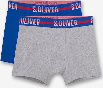 s.Oliver Boxershorts in marine / grau, Produktansicht