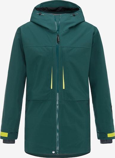 PYUA Outdoorjas in de kleur Donkergroen, Productweergave