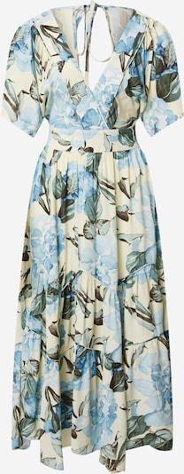 Y.A.S Kleid 'ROSEBLOOM' in hellblau / gelb / grün, Produktansicht