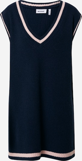 WEEKDAY Knit dress in Blue / Pink, Item view