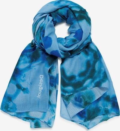 Desigual Écharpe 'FOU BLUADALAI' en bleu / turquoise, Vue avec produit