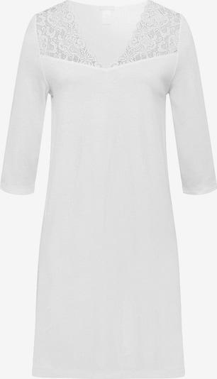 Hanro Chemise de nuit ' Moments 100cm ' en blanc, Vue avec produit