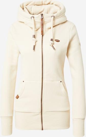 Ragwear Veste de survêtement 'NESKA' en beige, Vue avec produit