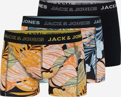 JACK & JONES Boxerky - světlemodrá / tmavě modrá / žlutá / světle zelená, Produkt