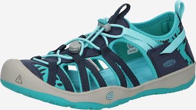 KEEN Sandale 'MOXIE' in navy / aqua, Produktansicht