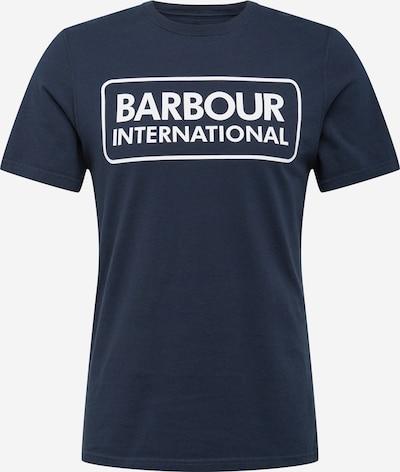 Marškinėliai 'Essential' iš Barbour International , spalva - tamsiai mėlyna / balta: Vaizdas iš priekio
