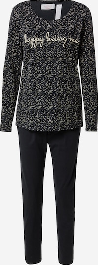Pijama TRIUMPH pe negru / alb, Vizualizare produs