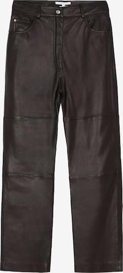 Scalpers Pantalon en brun foncé, Vue avec produit