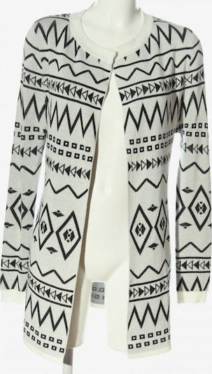 Aiki Keylook Cardigan in M in hellgrau / schwarz, Produktansicht