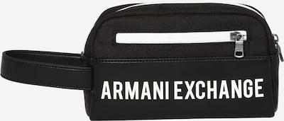 ARMANI EXCHANGE Hygienialaukku värissä musta / valkoinen, Tuotenäkymä