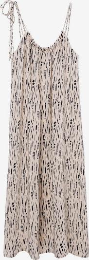 Rochie de vară MANGO pe culoarea pielii / negru, Vizualizare produs