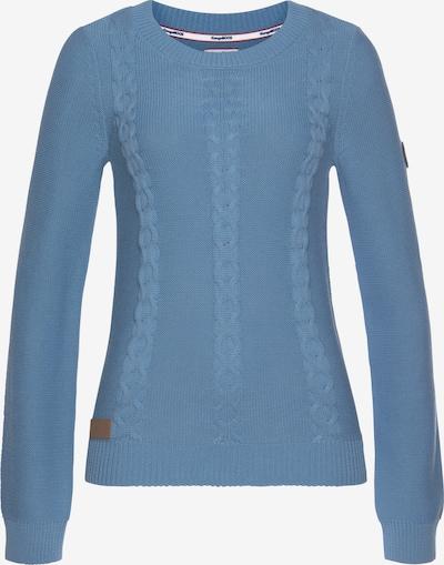 KangaROOS Pullover in blau / braun, Produktansicht