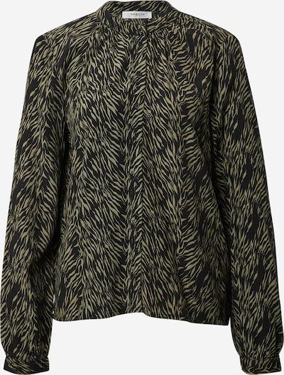 MOSS COPENHAGEN Blouse 'Alie  Morocco' in olive / black, Item view