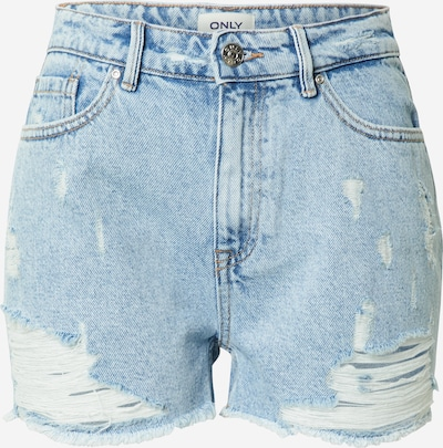 ONLY Shorts 'FINE' in hellblau, Produktansicht